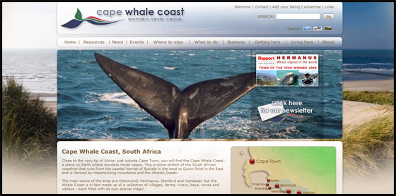 Dunes Theme - Cape Whale Coast