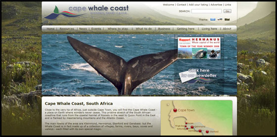 Fynbos theme - Cape Whale Coast