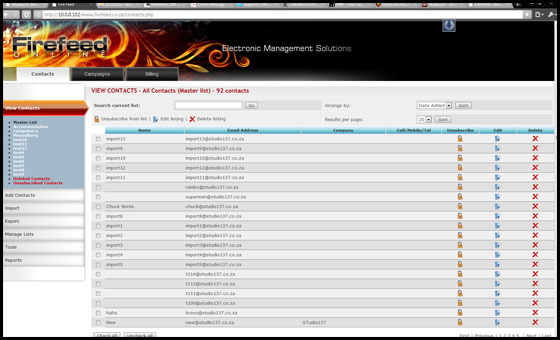 Firefeed Screenshot 1