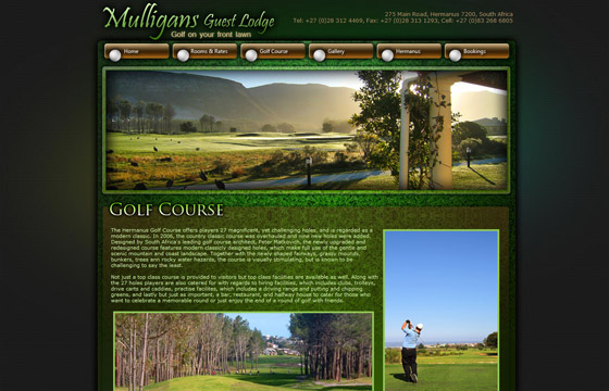 View of the Hermanus golf course page