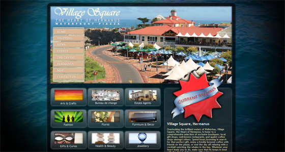 Village Square Shopping Centre Home page